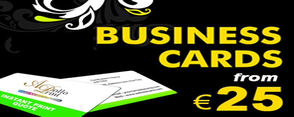 Standard Business Cards - Cork Printing|021-4871456Cork Printing|021 ...