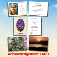 Acknowledgement Cards