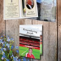 Memoriam 4 page cards